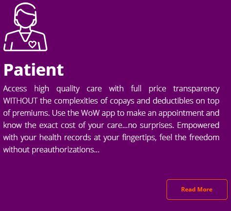 WoW patient